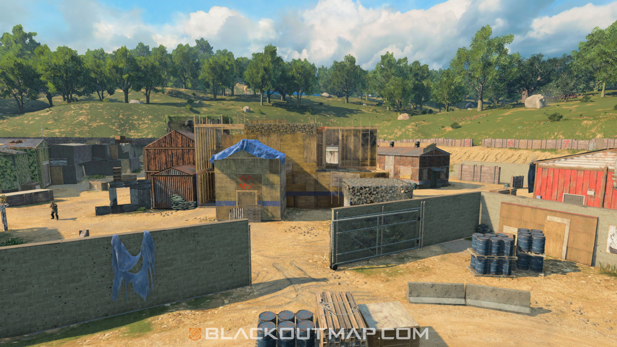 Blackout Interactive Map - Firing Range - Map Location