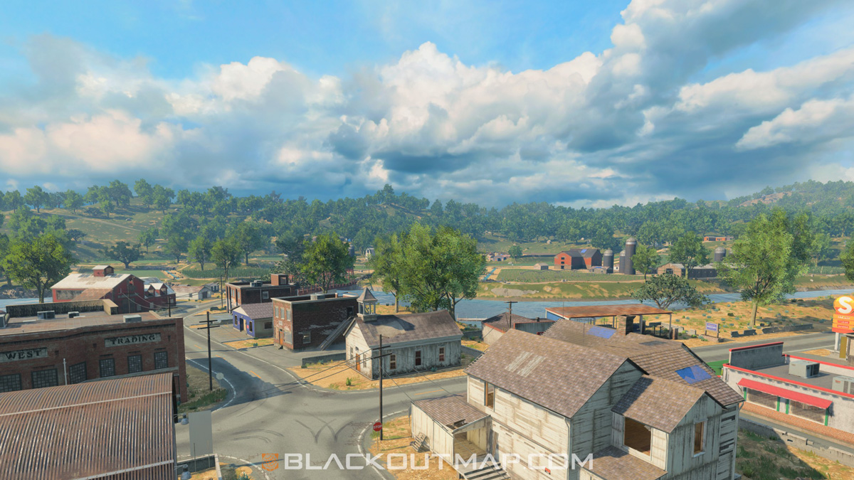 Blackout Interactive Map - Rivertown - Map Location
