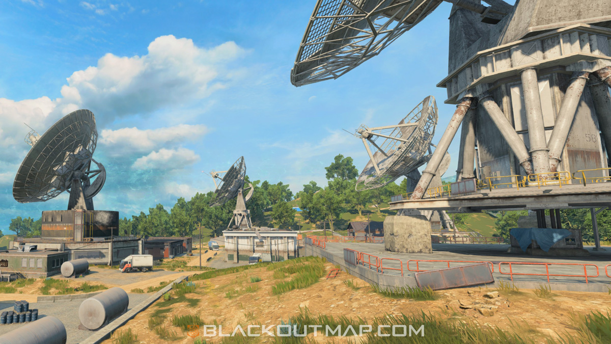 Blackout Interactive Map - Array - Map Location