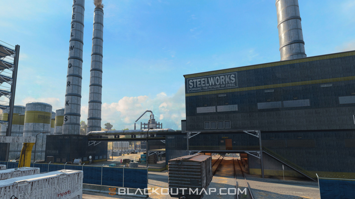 Blackout Interactive Map - Factory - Map Location