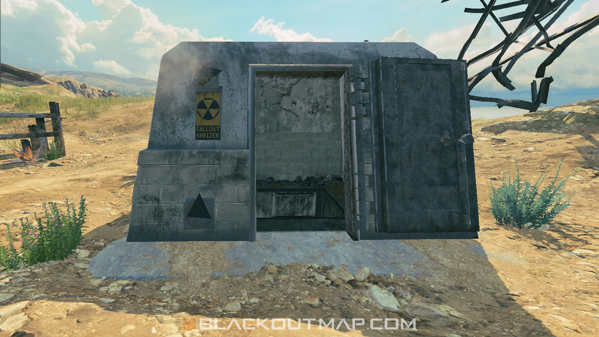 Blackout Interactive Map - Underground Entrance - Nuketown Island
