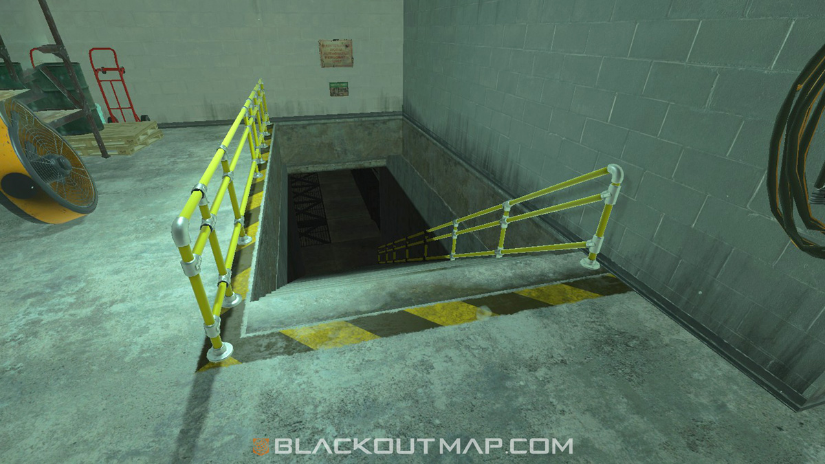Blackout Interactive Map - Underground Entrance - Fracking Tower