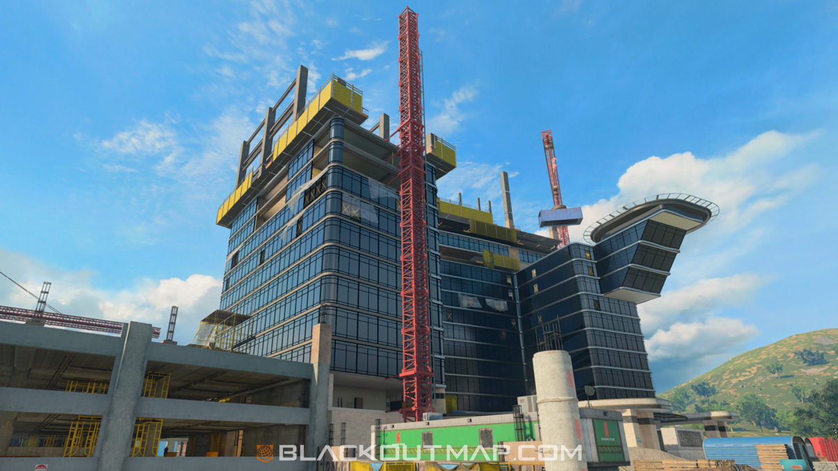 Blackout Interactive Map - Construction Site - Map Location