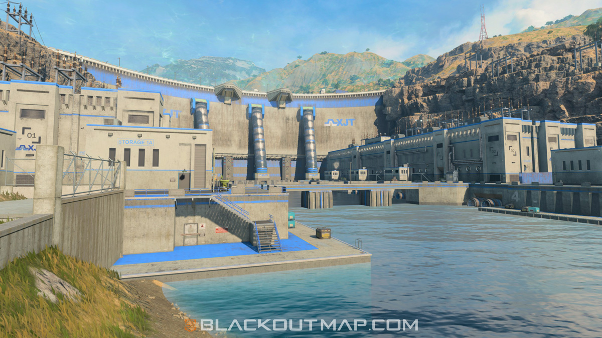 Blackout Interactive Map - Hydro Dam - Map Location