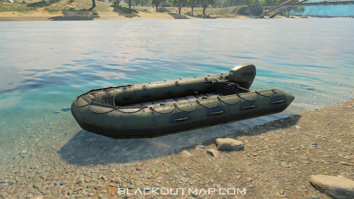 Blackout Interactive Map - Boat - Grid D7