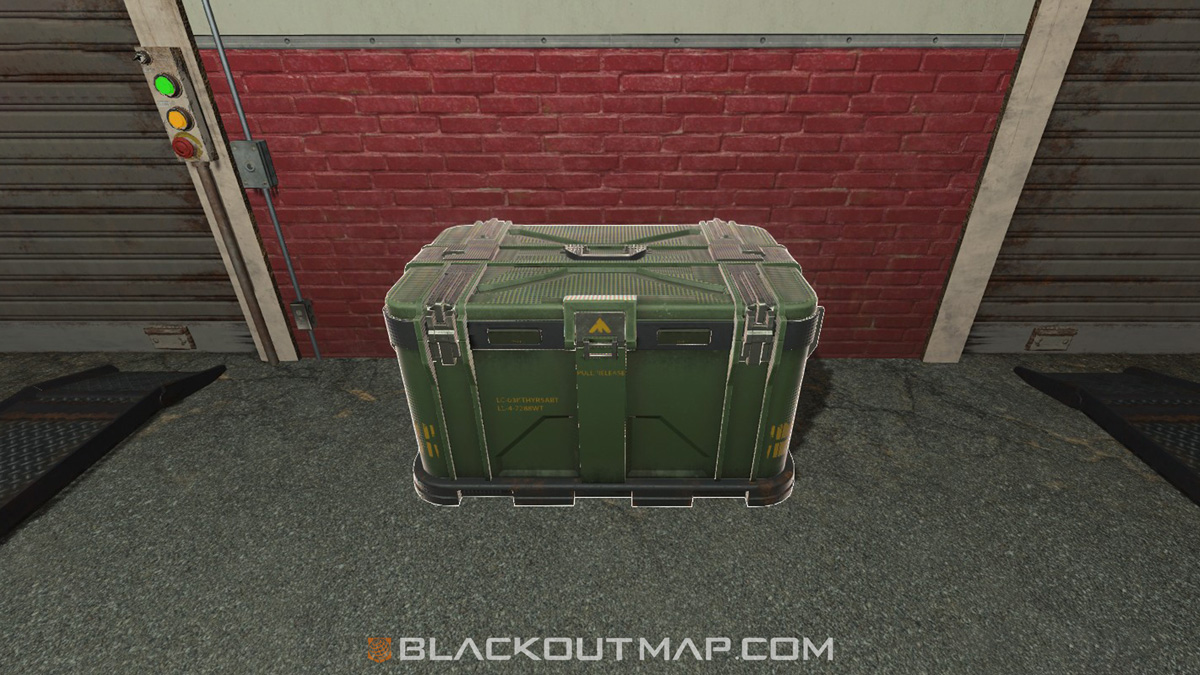 Blackout Interactive Map - Stash - Grid C5 - #2