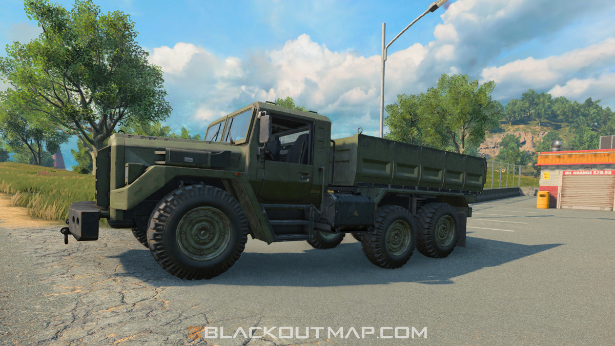 Blackout Interactive Map - Truck - Nuketown Island