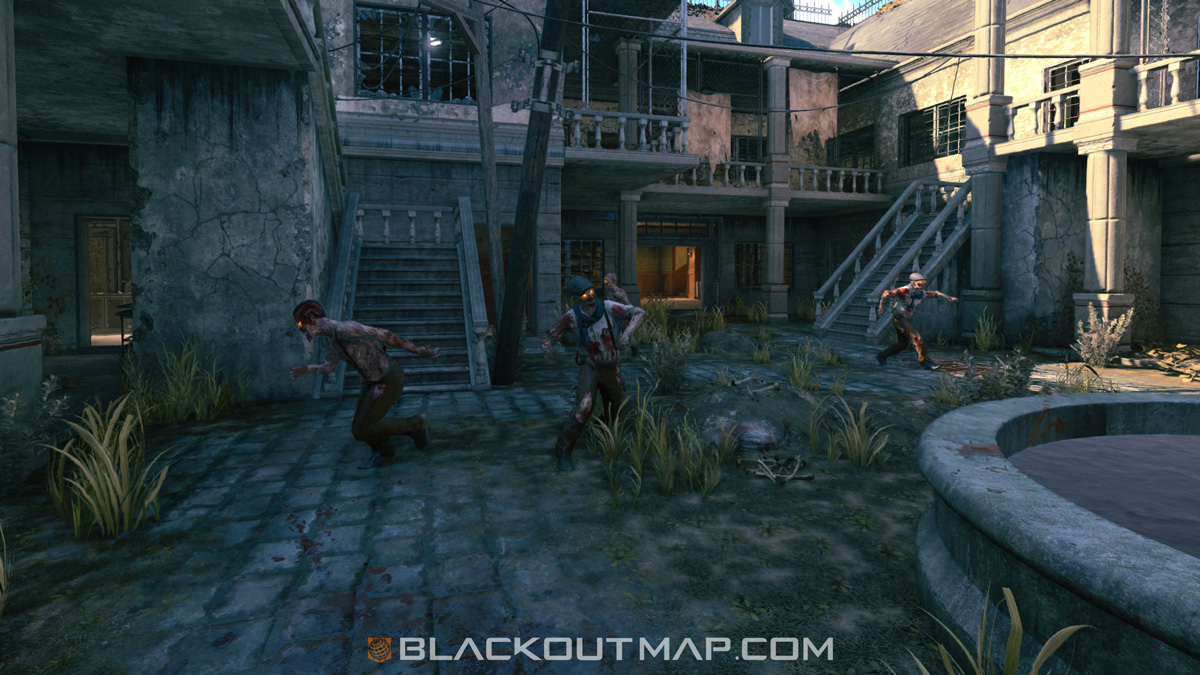 Blackout Interactive Map - Zombies - Asylum